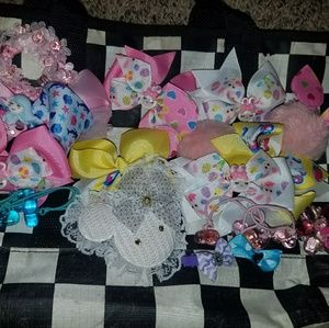 [HOLD]Kawaii Harajuku Pastel Bow Bundle